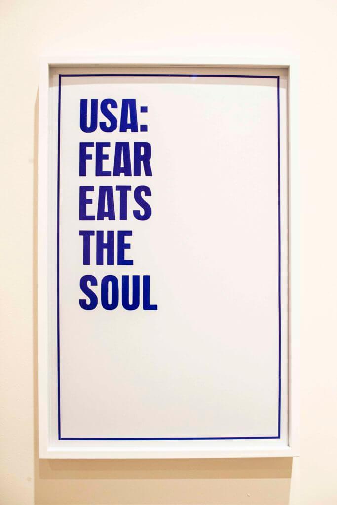 el miedo se come el alma